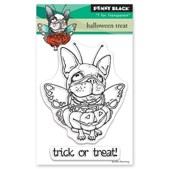 Penny Black Clear Stamps HALLOWEEN TREAT 30-494