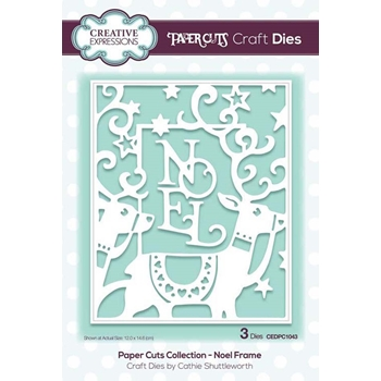 Creative Expressions NOEL FRAME Paper Cuts Collection Dies cedpc1043