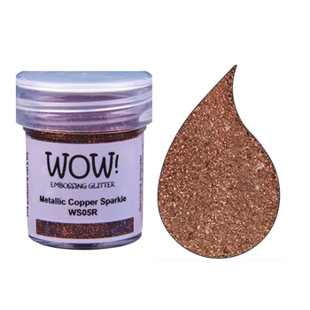 WOW Embossing Glitter METALLIC COPPER SPARKLE Regular WS05R