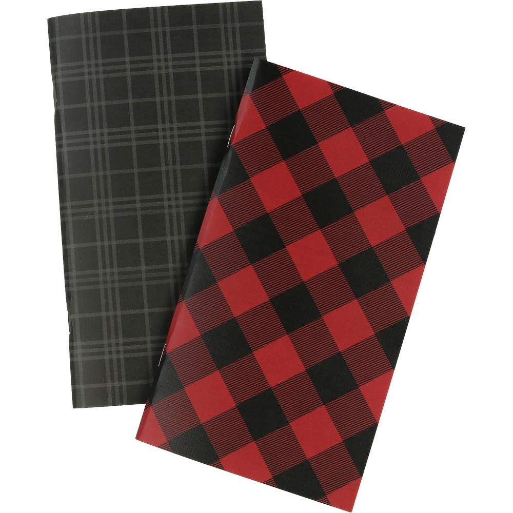 Echo Park RED BUFFALO PLAID Travelers Notebook Lined Inserts tnp1002 zoom image