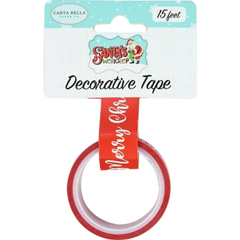 Carta Bella MERRY CHRISTMAS Decorative Tape cbsw90026