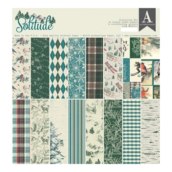 Authentique SOLITUDE 12 x 12 Collection Kit sol011