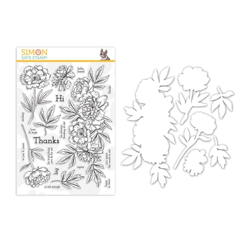 Simon Says Stamps And Dies BEAUTIFUL FLOWERS 2 set333bf2 Preview Image