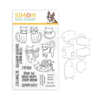 Simon Says Stamps And Dies RIGHT MEOW set335rm