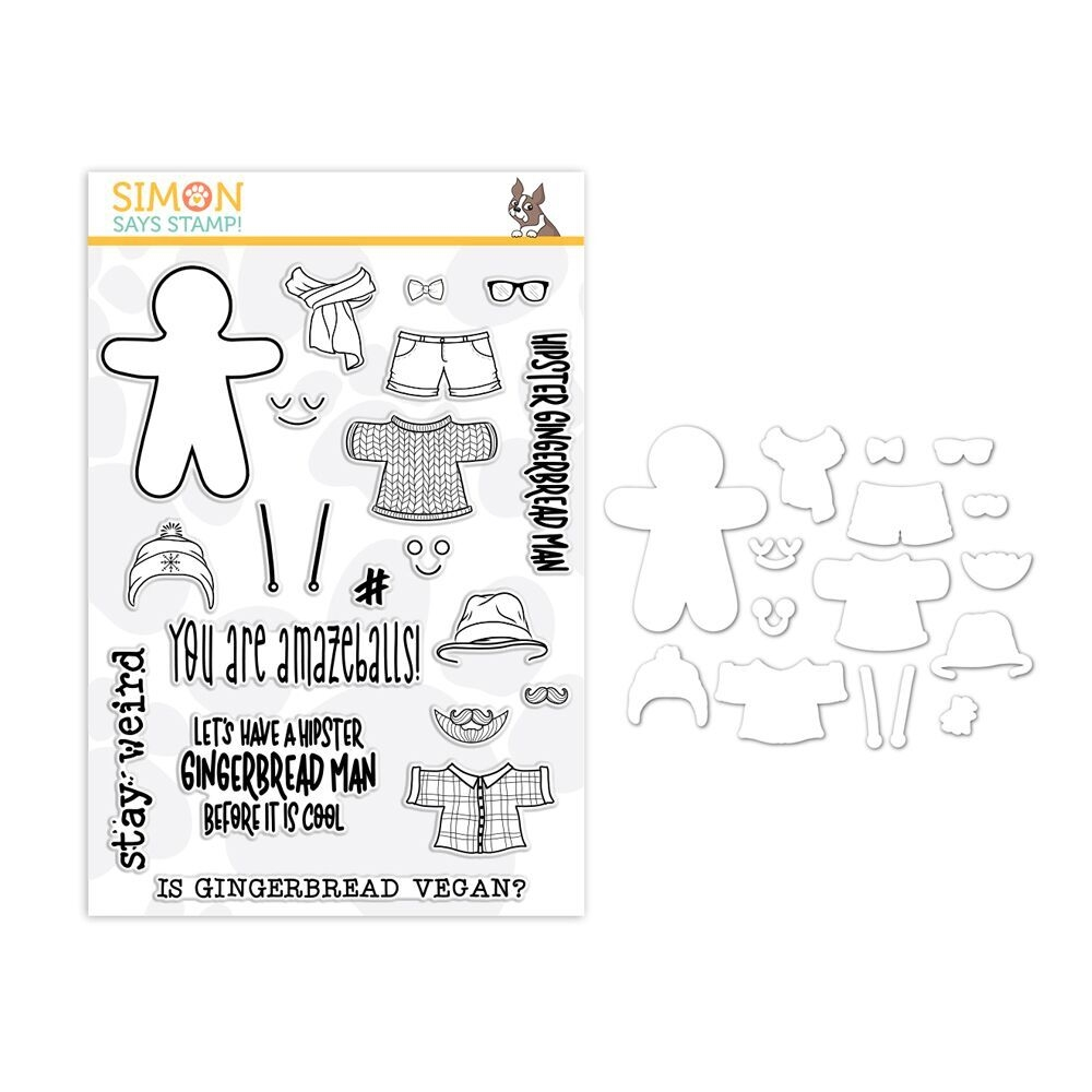 Simon Says Stamps And Dies HIP GINGER set337hg zoom image