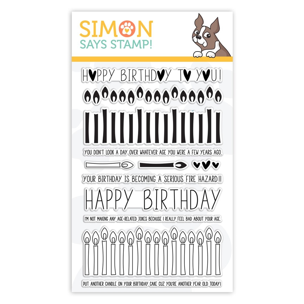 Simon Says Clear Stamps BIRTHDAY BORDERS sss101852 Stamptember zoom image