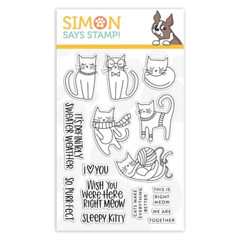 Simon Says Clear Stamps RIGHT MEOW sss101870 Stamptember