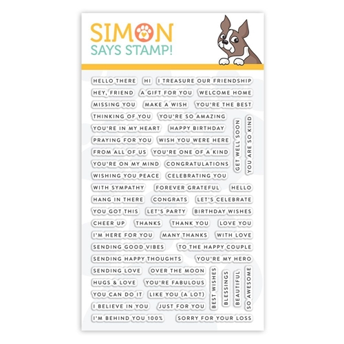 Simon Says Clear Stamps TINY WORDS Sss101883 Preview Image Shadow