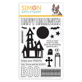 Simon Says Clear Stamps BWAHAHA sss101879 Stamptember