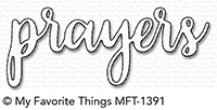 My Favorite Things PRAYERS Die-Namics MFT1391
