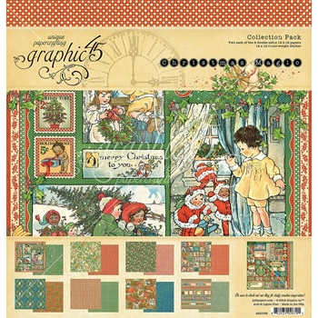 Graphic 45 CHRISTMAS MAGIC 12 x 12 Collection Pack 4501735
