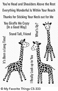 My Favorite Things PLAYFUL GIRAFFES Clear Stamps CS333 Preview Image