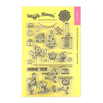 Waffle Flower COOKIE TIME Clear Stamps 271201