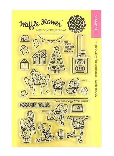 Waffle Flower COOKIE TIME Clear Stamps 271201 zoom image