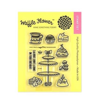 Waffle Flower SWEET TREATS Clear Stamps 271202