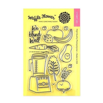 Waffle Flower WE BLEND Clear Stamps 271198