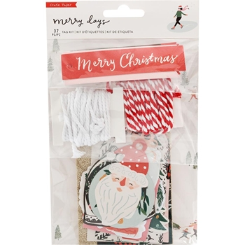 Crate Paper MERRY DAYS Tag Kit 344517