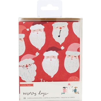 Crate Paper MERRY DAYS Card Set 344518