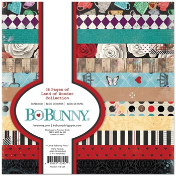 BoBunny 6 x 6 LAND OF WONDER Paper Pad 7310345