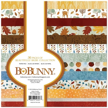 BoBunny 6 x 6 BEAUTIFULLY BRISK Paper Pad 7310327
