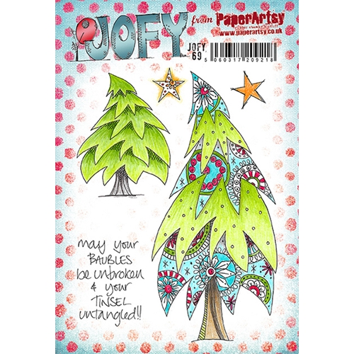 Paper Artsy JOFY 69 Cling Stamp jofy69 Preview Image