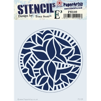 Paper Artsy ECLECTICA3 TRACY SCOTT Stencil ps109