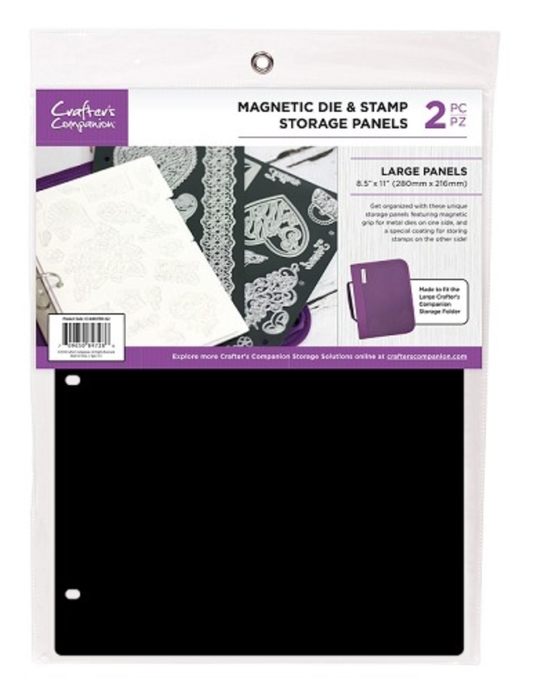 Crafter's Companion 8.5 x 11 LARGE MAGNETIC STORAGE PANELS cc-magstor-lg2 zoom image
