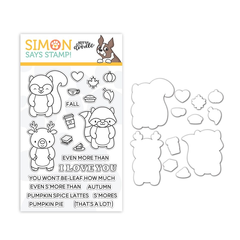 Heffy Doodle Clear Stamp and Die Set MORE THAN S'MORES SR18SETHD STAMPtember Exclusive zoom image