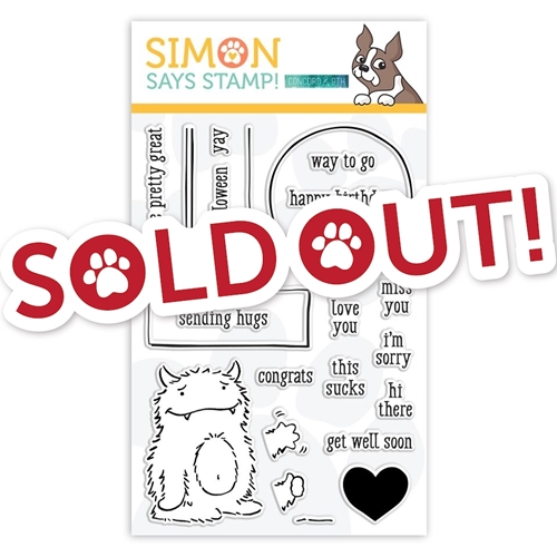 Concord 9th Clear Stamps MONSTER HUGS Sss101929 STAMPtember Exclusive Preview Image Shadow