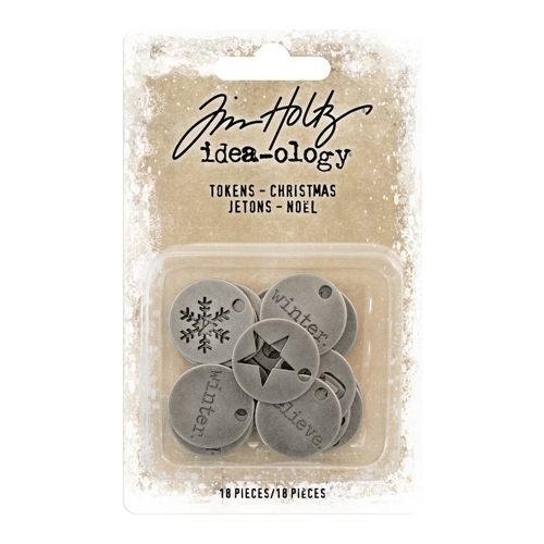 Tim Holtz Idea-ology CHRISTMAS Tokens th93750 Preview Image