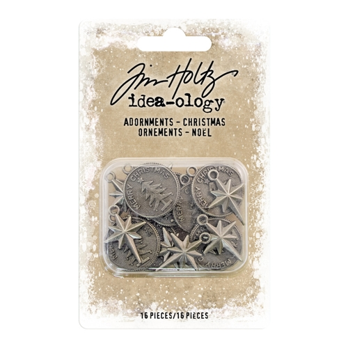 Tim Holtz Idea-ology CHRISTMAS Adornments th93764 Preview Image