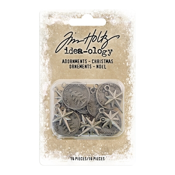 RESERVE Tim Holtz Idea-ology CHRISTMAS Adornments th93764