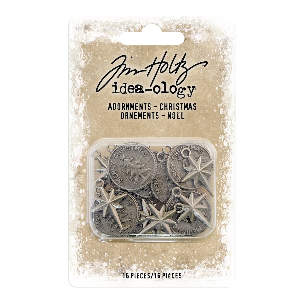 Tim Holtz Idea-ology CHRISTMAS Adornments th93764 zoom image
