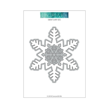 Concord & 9th SNOW FLURRY Die Set 10463