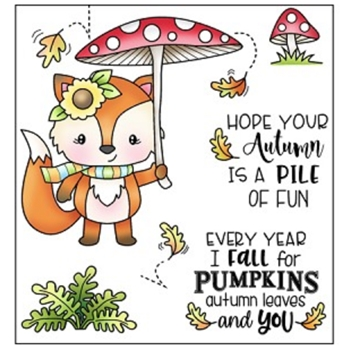Darcie's FALL FOR YOU Clear Stamp Set pol398