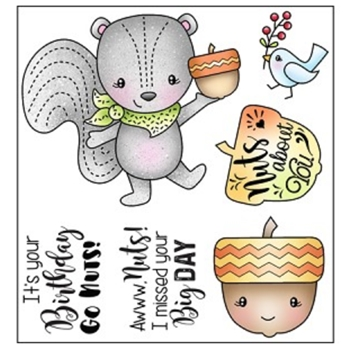 Darcie's AWWW NUTS Clear Stamp Set pol399