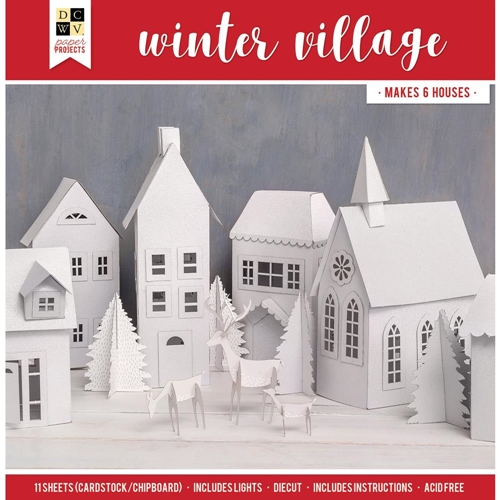 DCWV WINTER VILLAGE Paper Project 614731 Preview Image