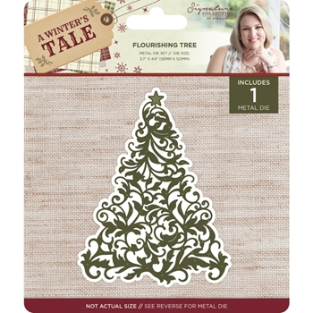 Crafter's Companion FLOURISHING TREE A Winter's Tale Metal Die s-awt-md-fltr