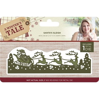 Crafter's Companion SANTA'S SLEIGH A Winter's Tale Metal Die s-awt-md-sasl