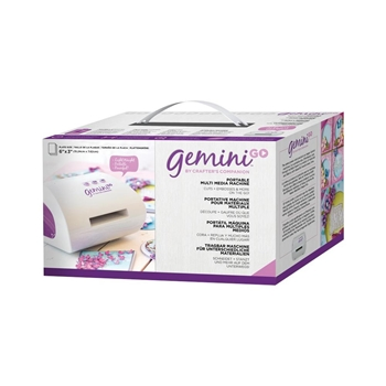 Crafter's Companion GEMINI GO Die-Cutting & Embossing Machine USA gemgo-m-glo