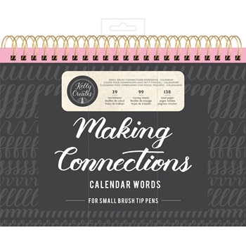 Kelly Creates SMALL BRUSH CALENDAR WORDS Workbook 348282