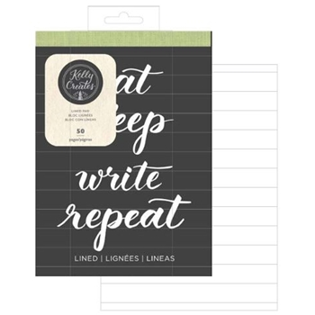 Kelly Creates LINED TRAVEL PAD Workbook 348290