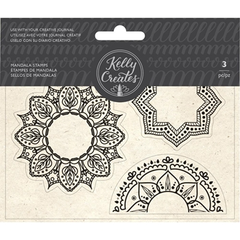 Kelly Creates MANDALA Clear Stamps 348279