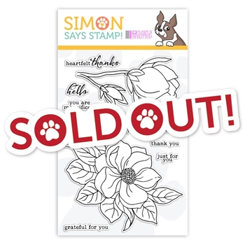 Clearly Besotted Clear Stamps MAGNIFICENT MAGNOLIA sss101931 STAMPtember Exclusive