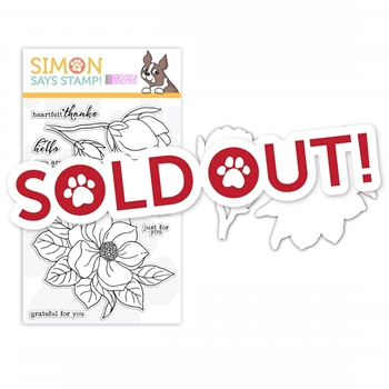 Clearly Besotted Clear Stamp and Die Set MAGNIFICENT MAGNOLIA SR18SETMM STAMPtember Exclusive