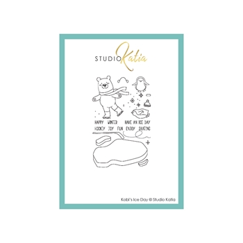 Studio Katia KOBI'S ICE DAY Clear Stamps stks065