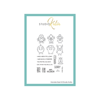 Studio Katia MONSTER BASH Clear Stamps stks063