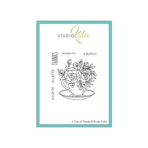 Studio Katia A CUP OF THANKS Clear Stamps stks069 Preview Image