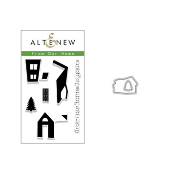 Altenew FROM OUR HOME Clear Stamp and Die Bundle ALT2635