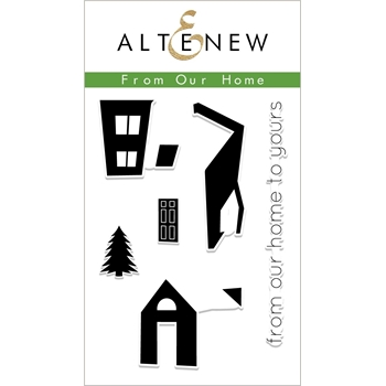 Altenew FROM OUR HOME Clear Stamps ALT2623